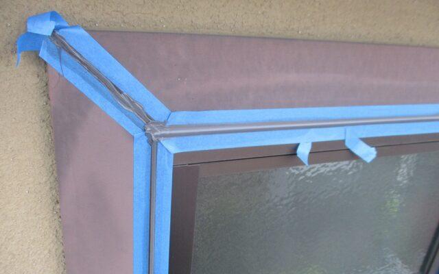 窓回りアプローチ補修