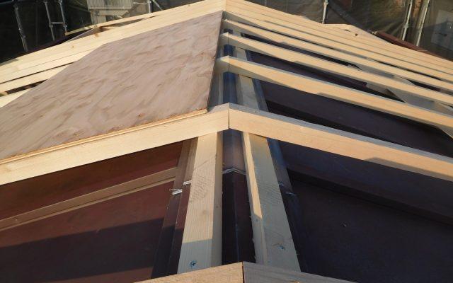 屋根土台新設