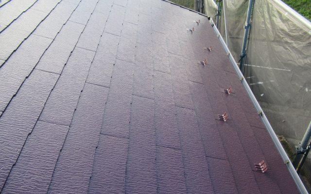 屋根仕上り