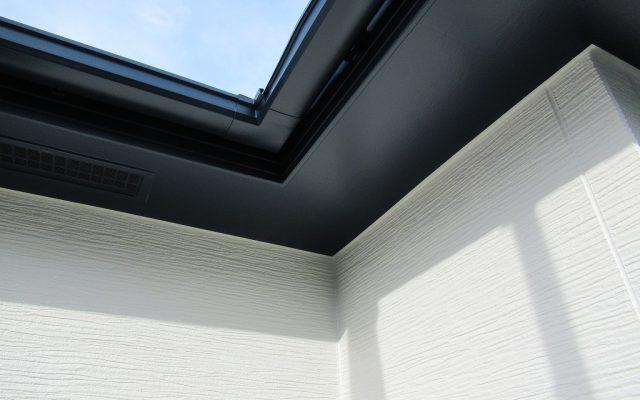 破風板・軒天井塗装