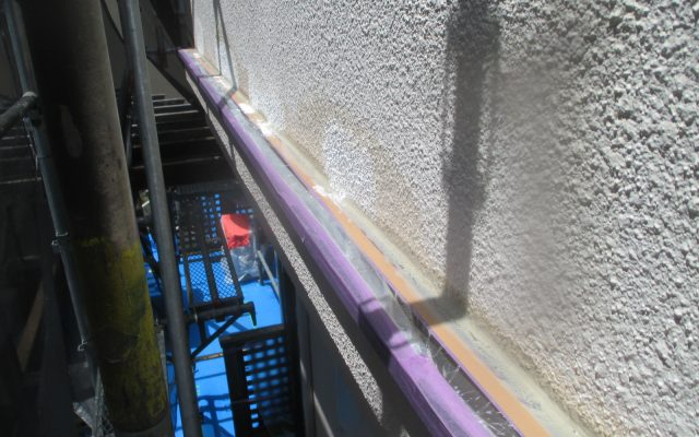 外壁浮き部下地処理