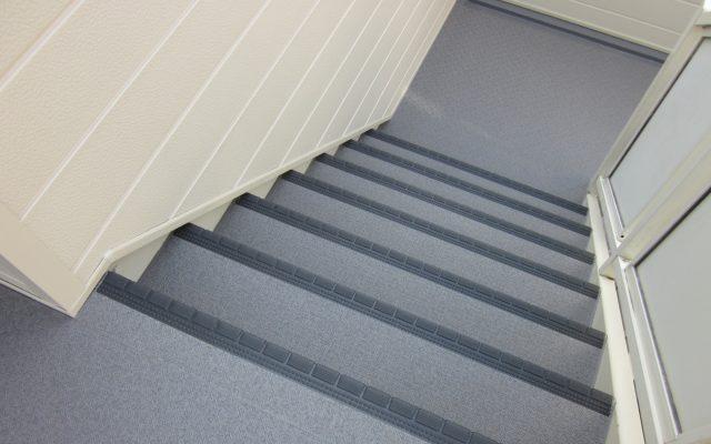 階段タキステップ防水完了