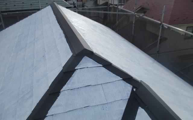 屋根サビ止め・下塗り
