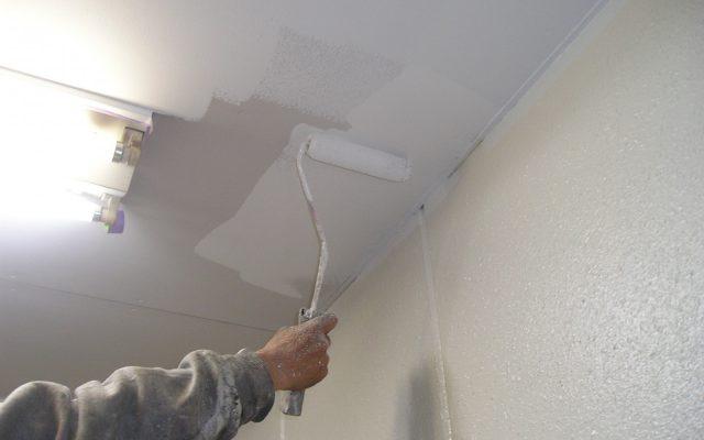 室内軒天塗装