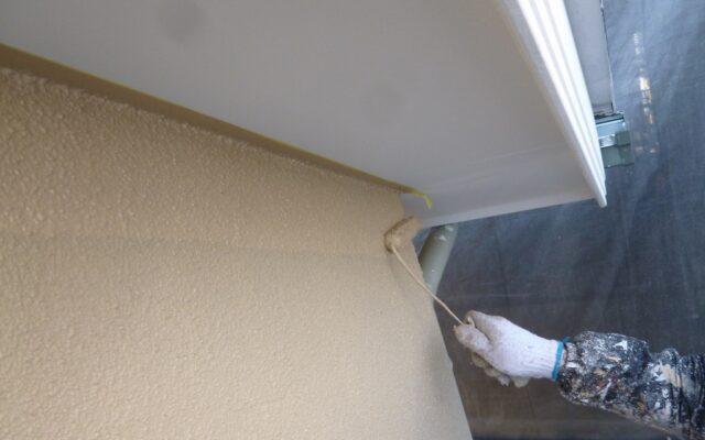 外壁中塗り・上塗り