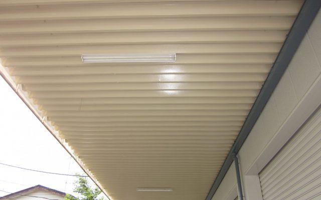 折半屋根内側完成