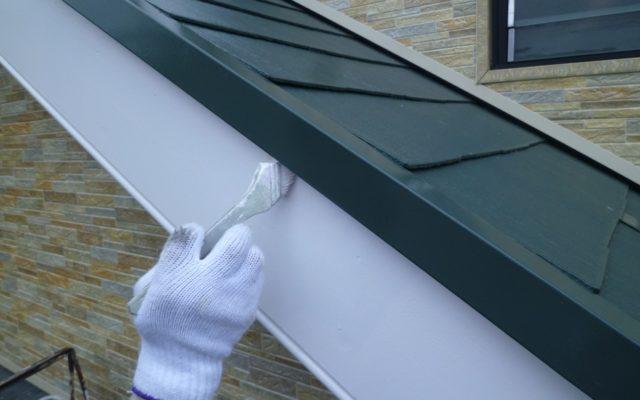 屋根・破風板塗装