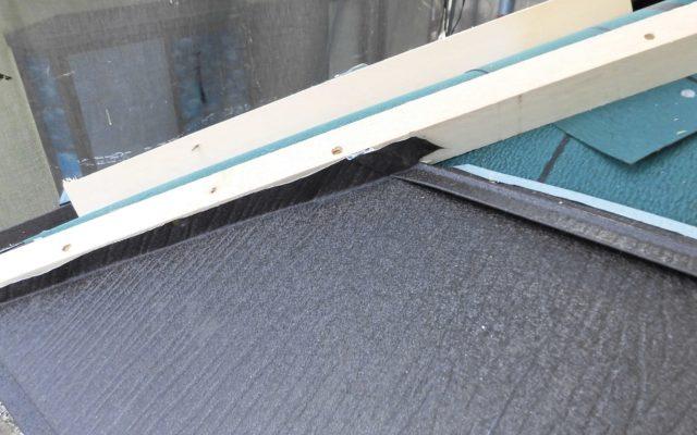 断熱材入り屋根貼り