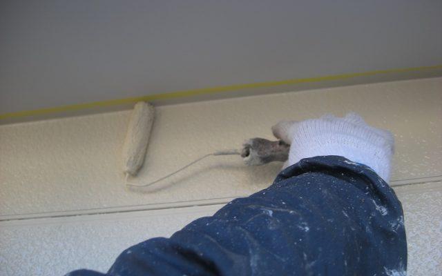 2階部外壁塗装