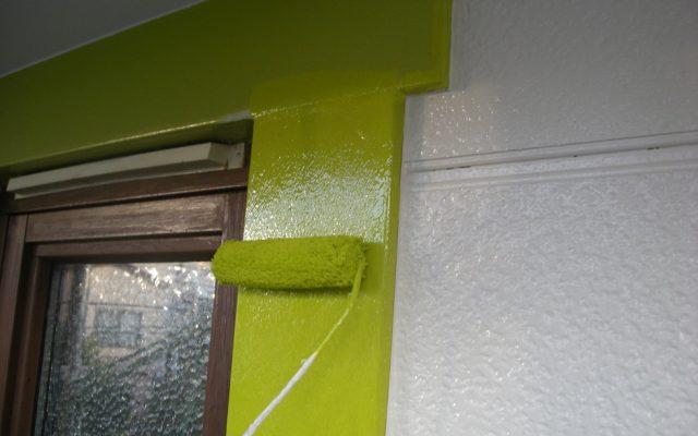 窓廻り部分塗装