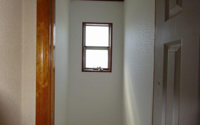 天井壁完成クロス貼り