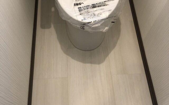 トイレクッションフロア貼り