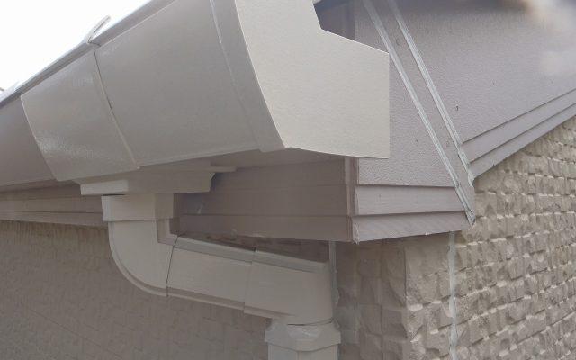 軒・雨樋上塗り