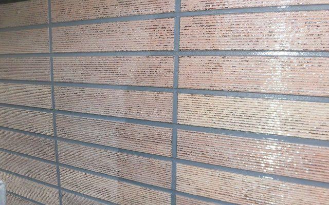 外壁1階クリア塗装