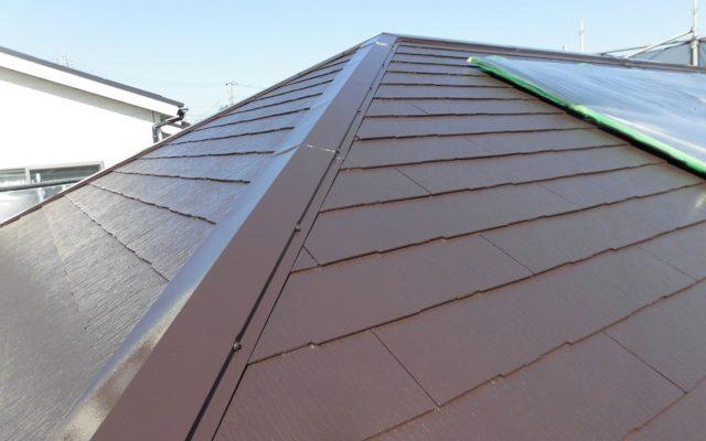 屋根3回塗り仕上