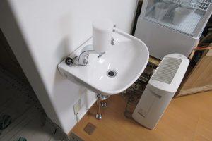 手洗器取付