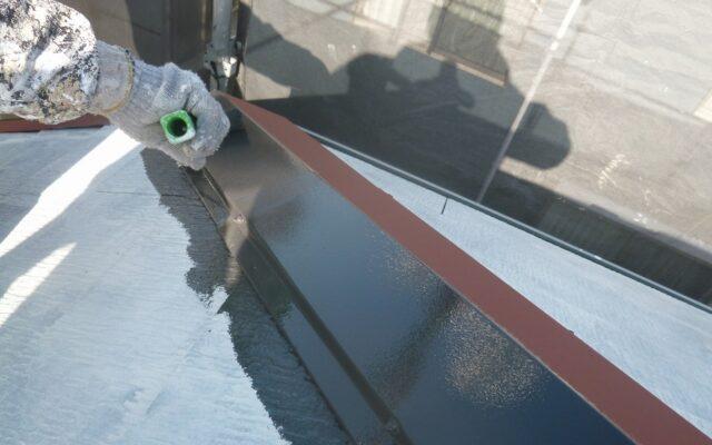 屋根下塗り・中塗り・錆止め