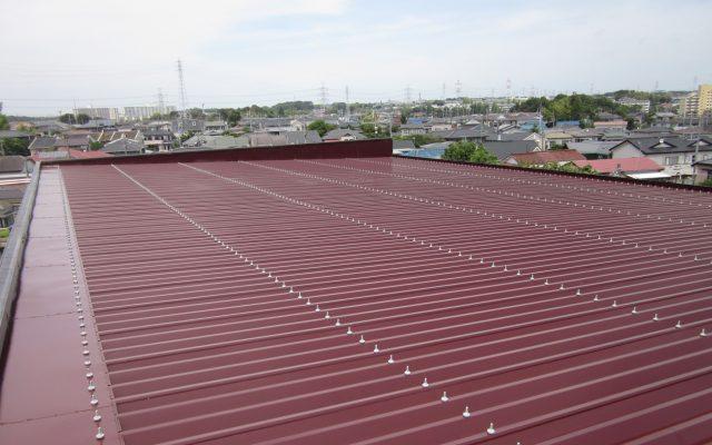 折半屋根完成