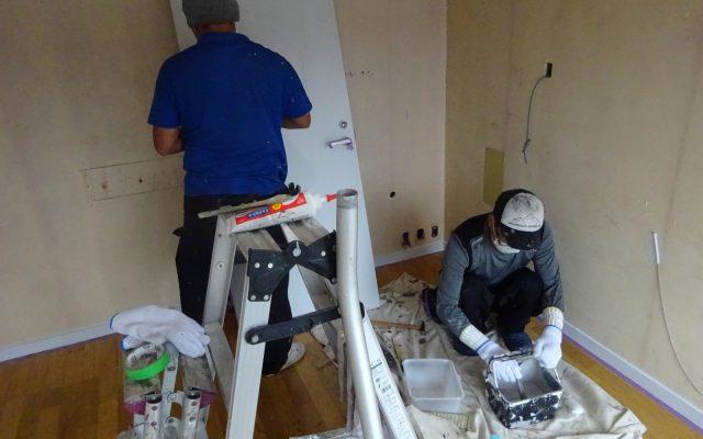 内装塗装工事