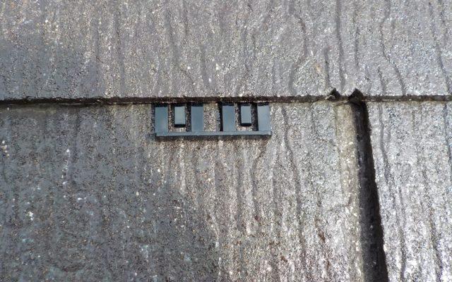 屋根 タスペーサー処理
