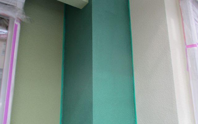 外壁上塗り完成