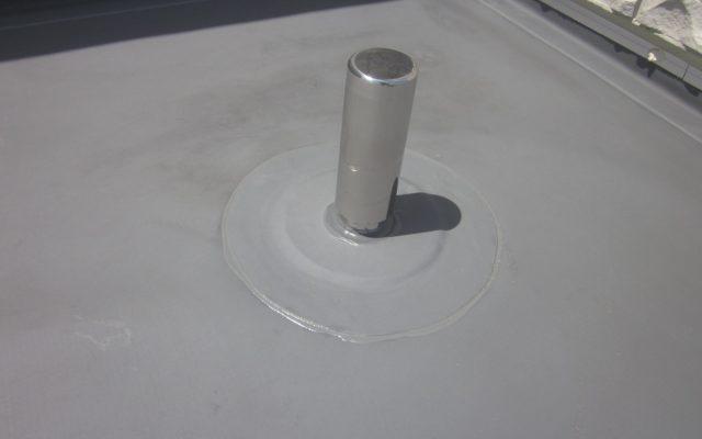 脱気筒ステンレス設置