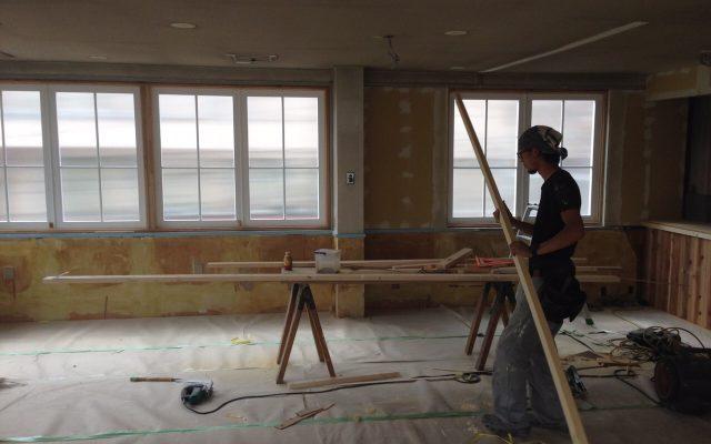 2階内装工事