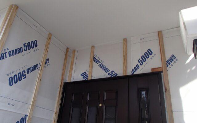 外壁木胴縁取付