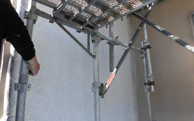 モルタル復元吹付工事
