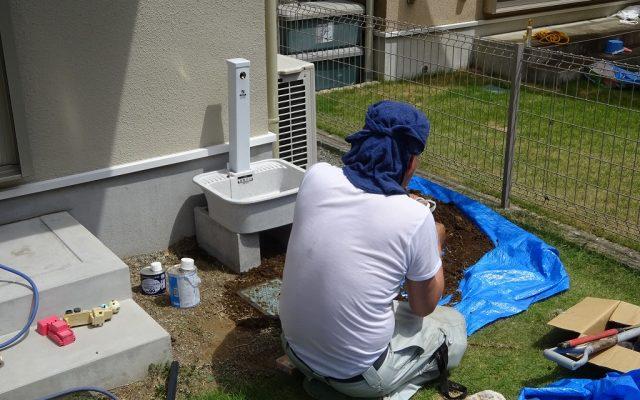 外水栓新設
