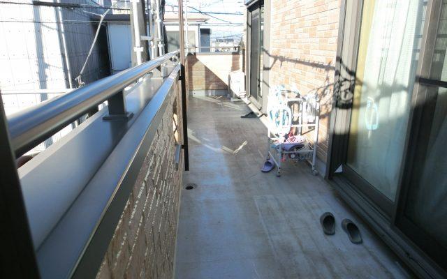 シート防水施工前