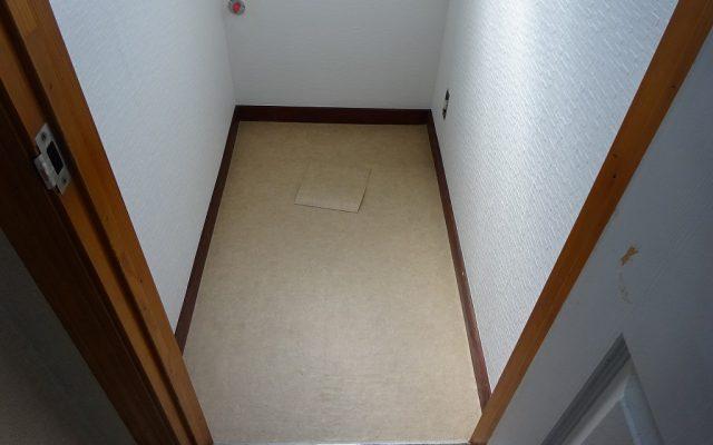 床CFシート貼り完成