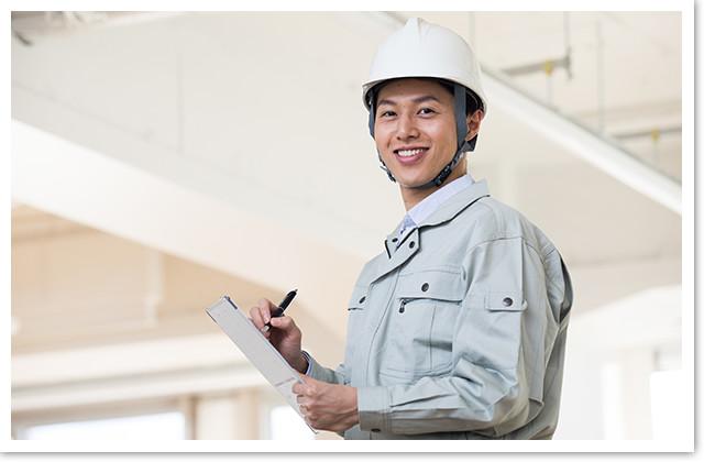 写真:「建築士」による建物診断・見積もりイメージ