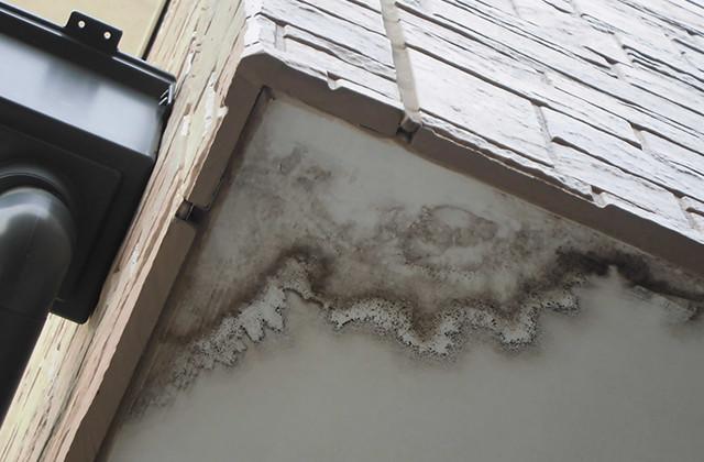 軒下雨ジミ・雨漏れ