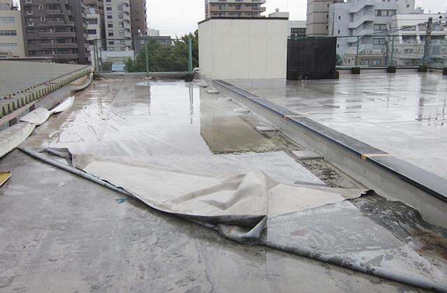 シート防水剥れ
